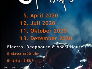Nachtschwärmer Parties 2020 @ Cafe Weiß