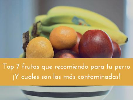 Top 7 frutas que más recomiendo