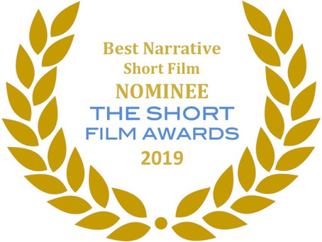 """Death is the Place...""  Nominated Best Narrative short Film 2019 at ""The Short Film Awards"""