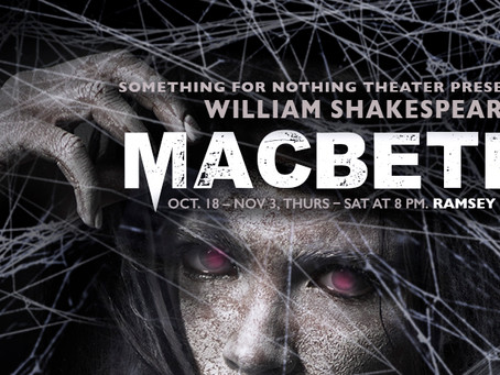 """""""Double, Double"""" Witch in MACBETH play"""