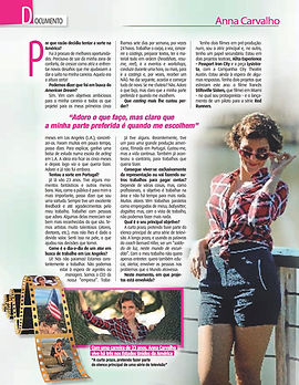 "Interview ""Nova Gente"" Magazine"