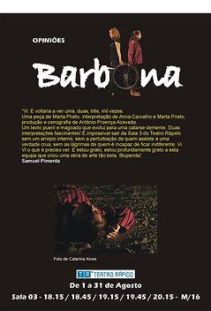 Barbona, Teatro, Critica, Anna Carvalho, Actores, play