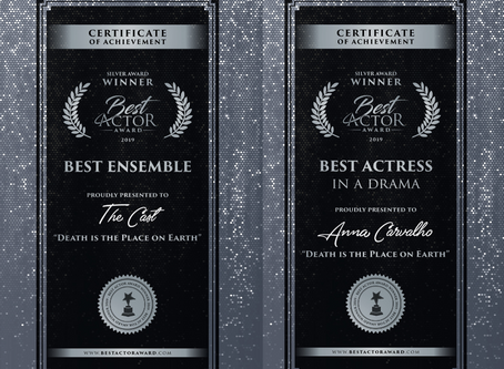 "Best actress and Best Ensemble awards at ""Best Actor Awards"" in Italy"