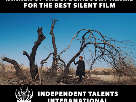 Special Jury Award DEATH IS THE PLACE ON EARTH at the Film Festival ITalentsiff