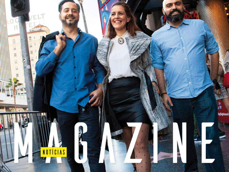 NOTICIAS MAGAZINE - Portugueses em Hollywood