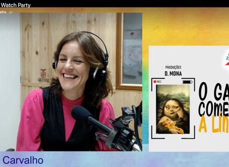 "Interview / Podcast show""O Gato Comeu-te a Lingua"" Radio Movimento"