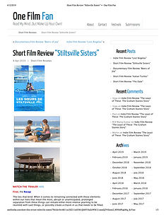 "Short_Film_Review_""Stiltsville_Sisters""_"