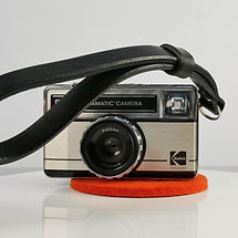 Slim Black Leather Wrist Strap for Cameras