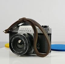 Slim Leather Camera Wrist Strap