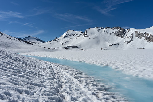 9 Frozen valley up to Muir Pass