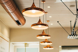 Hanging Brass Lamps - Peak Electrical - Electricians in Canberra Local Area - Licensed Electrician - Light Installation