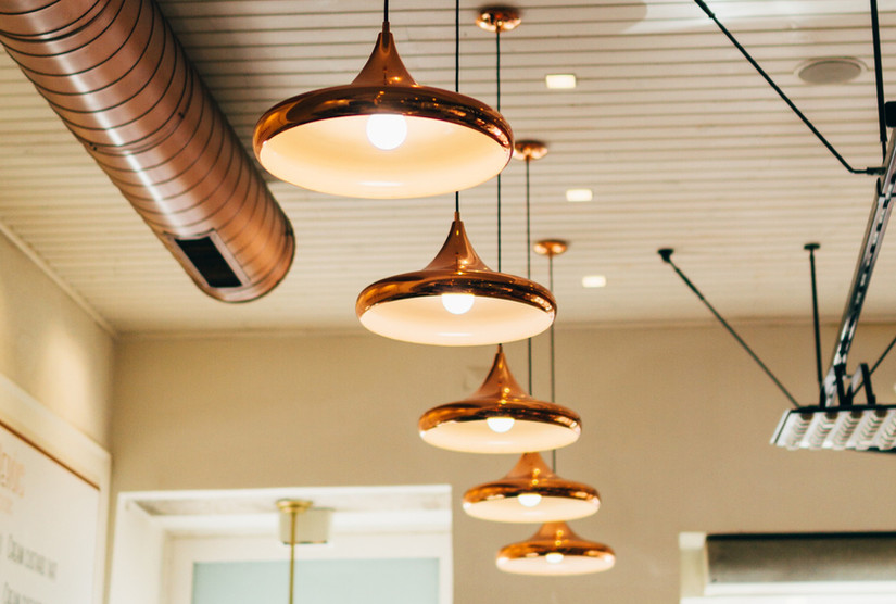 All Lighting is Custom Made to Whatever Size, Style, & Color You Choose