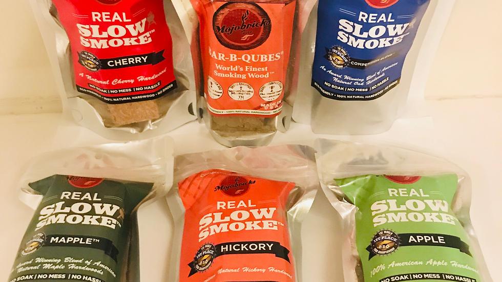 5 sample packs plus 1 Hickory Bourbon