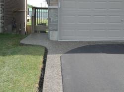 Asphalt Driveway Aggregate Curbs