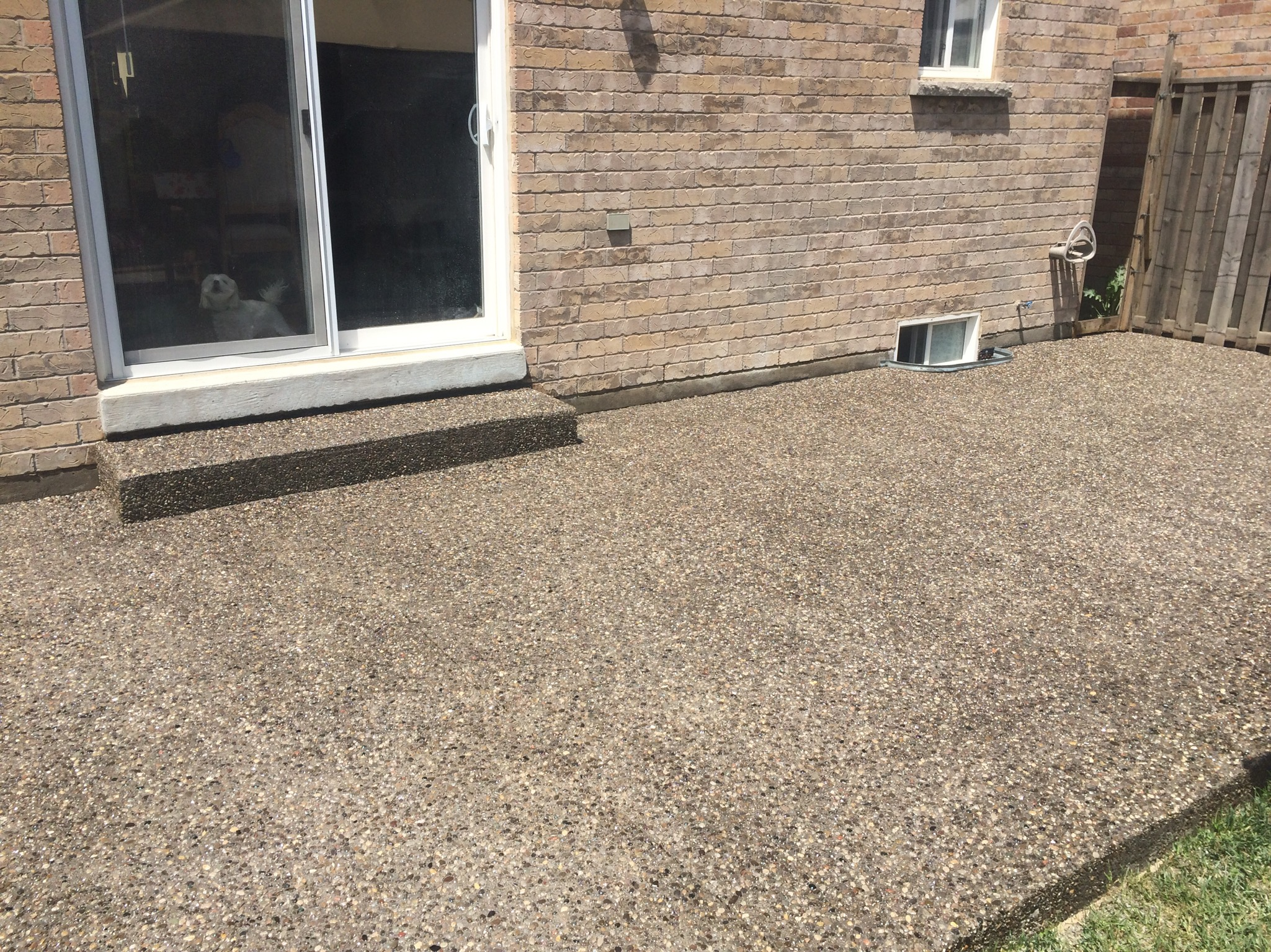 Aggregate Patio