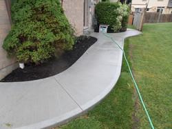 Plain Concrete Sidewalk