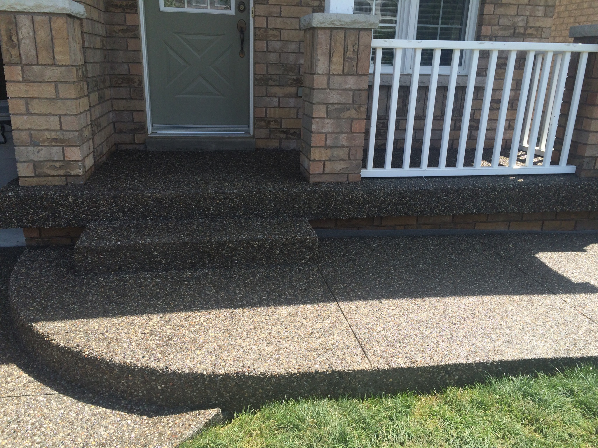 Aggregate Steps & Entrance