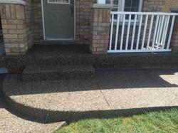 Aggregate Steps & Entrance