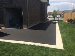 Plain Concrete & Asphalt Driveway