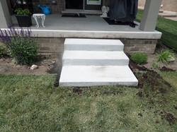 Plain Concrete Steps