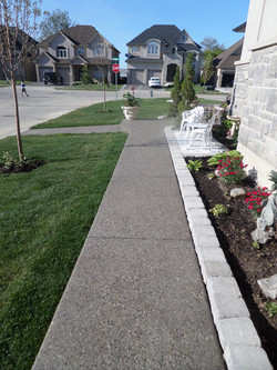 Aggregate Sidewalk