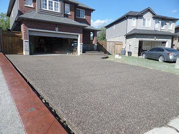 exposed aggregate, concrete contractor, hamilton