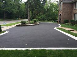 Plain Concrete Curbs