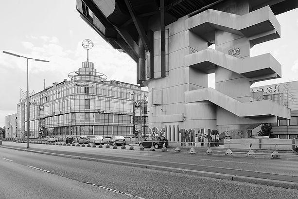Bierpinsel, Architetur 60er 70er, Berlin, Architekt, Rolf Schüler, Architektur, Architekturfotografie, Bussenius Reinicke, Fotograf, Fotostudio, Gelsenkirchen, Ruhrgebiet, Brutalismus, OnArchitecture