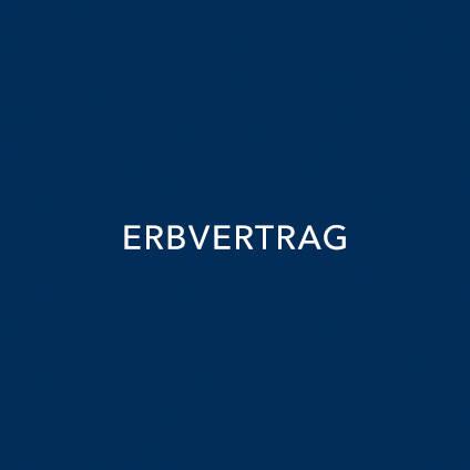 ERBVERTRAG