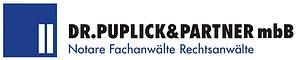Logo der Notare Dr. Alexander Puplick und Beate Puplick. Notar, Notare, Rechtsanwälte und Fachanwalt in der Kanzlei Dr. Puplick-Partner in Dortmund im Ruhrgebiet