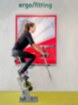 """Foto eines Ergo-Fitting Messsystems bei """"das Rad"""" in Dortmund"""
