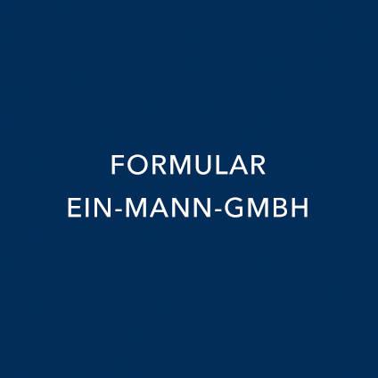 FORMULAR EIN-MANN-GMBH