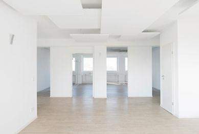 Innenansicht des Büroturm 5. OG des K2-Bürocenter in Dormund