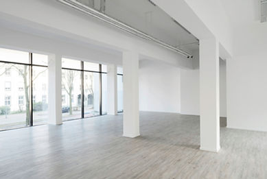 Innenansicht des Ladenlokal 1 und 2 des K2-Bürocenter in Dormund, Vermietung von Büros Dortmund