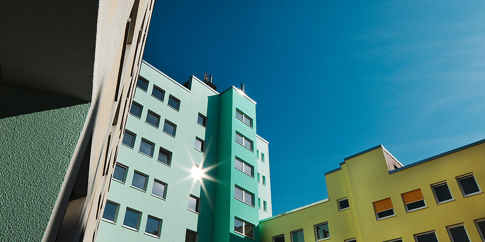 Seitenansicht des K2 Bürocenter in Dortmund, Büro und Ausstellungsflächen mieten, Gewerbefläche mieten, Praxis mieten