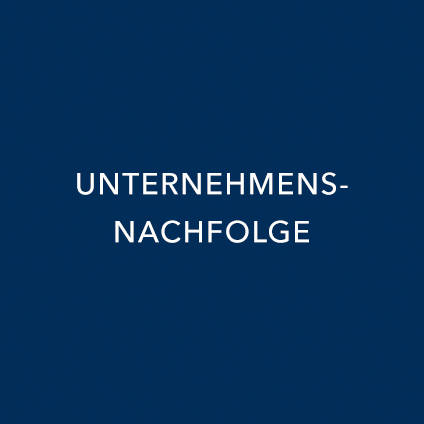 UNTERNEHMENSNACHFOLGE