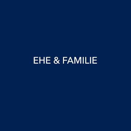 Ehe und Familienrecht
