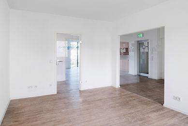 Innenansicht des Büroturm 1. OG des K2-Bürocenter in Dormund