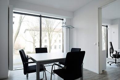 Innenansicht des des Ladenlokal 4 des K2-Bürocenter in Dormund, Vermietung von Büros Dortmund