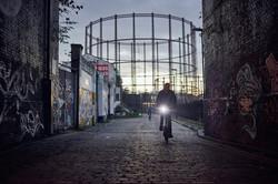 Foto eines Brompton Fahrrad Dortmund