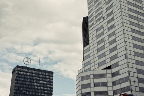 Europa-Center, Architektur 60er 70er, Berlin, Architekt, Helmut Hentrich, Hubert Petschnigg, Architektur, Architekturfotografie, Bussenius Reinicke, Fotograf, Fotostudio, Gelsenkirchen, Ruhrgebiet, Brutalismus, OnArchitecture