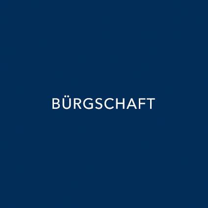 BÜRGSCHAFT