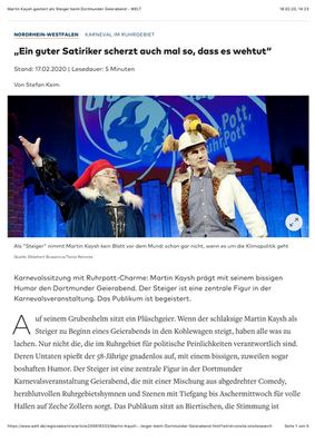 WELT.de // von Stefan Keim