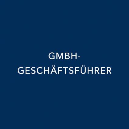 GEMBH GESCHÄFTSFÜHRER