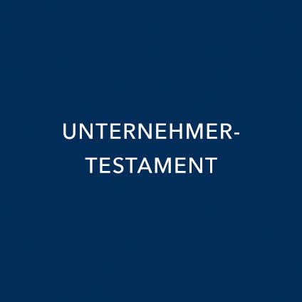 UNTERNEHMERTESTAMENT
