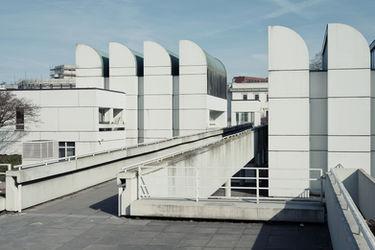 Bauhaus Archiv, Architetur 60er 70er, Berlin, Architekt, Walter Gropius, Alex Cvijanovic, Hans Bandel, Architektur, Architekturfotografie, Bussenius Reinicke, Fotograf, Fotostudio, Gelsenkirchen, Ruhrgebiet, Brutalismus, OnArchitecture