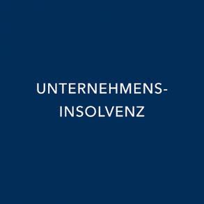 UNTERNEHMENSINSOLVENZ