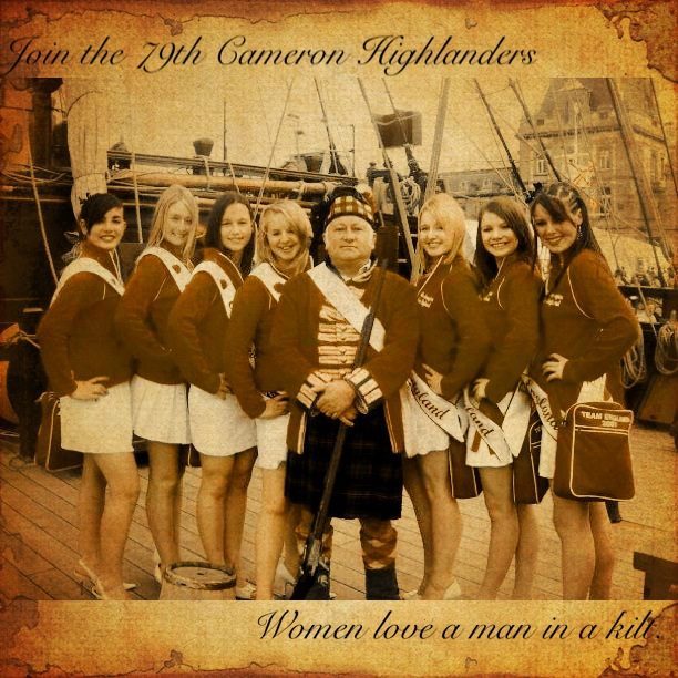 Ladies love a man in a kilt!