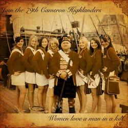 Ladies love a man in a kilt!