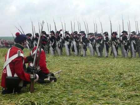 Waterloo against the French